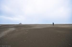 Karekare, plage de sable noir (où a été tournée une scène du film La Leçon de Piano pour la petite histoire !)