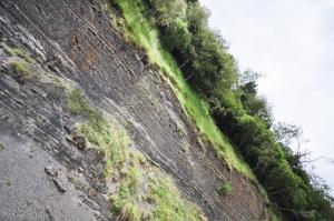 Bonus : le mille-feuille porte les stigmates des séismes qui ont marqué la région !