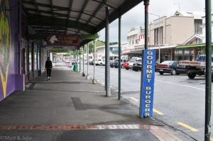 Tous les trottoirs sont couverts en NZ, cherchez pourquoi ;-)