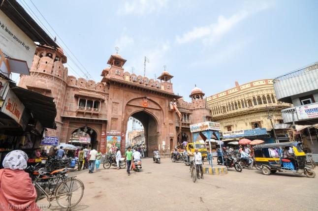 India - Bikaner - gate