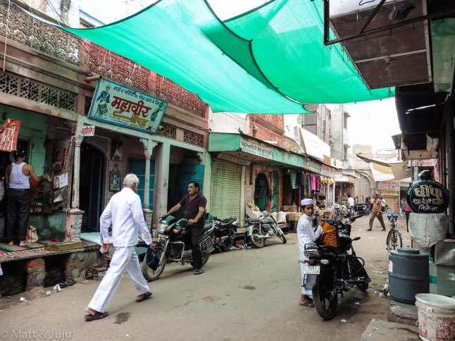 India - Bikaner - streets