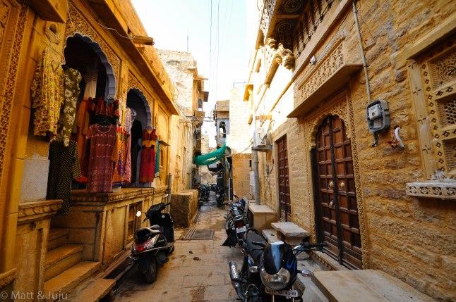 India - Jaisalmer - streets