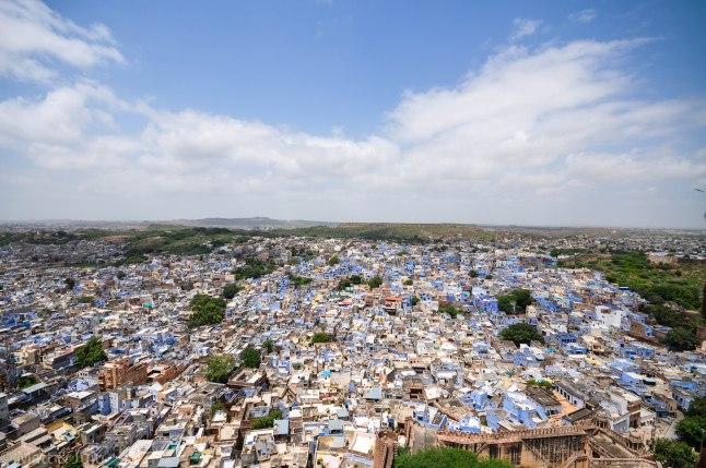 India - Jodhpur - ville bleue
