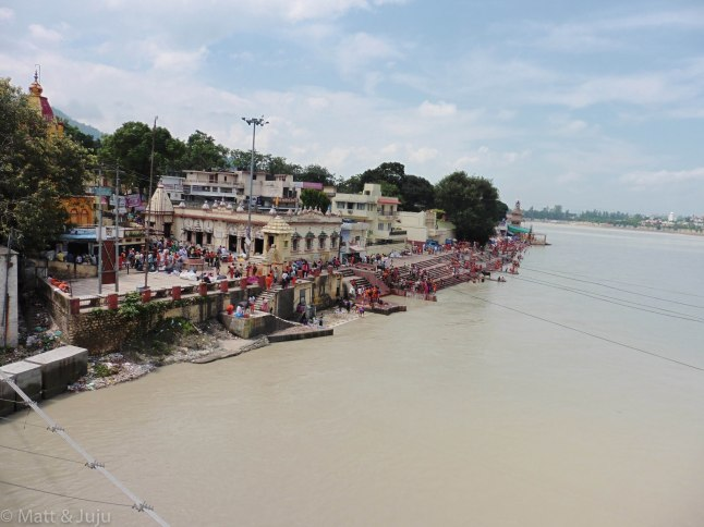 India - Rishikesh - ghat - Gange