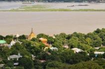 Myanmar - Mandalay - pagoda landscape, 2015