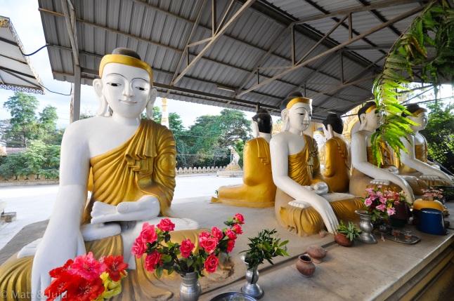 Myanmar - Mandalay - Buddha, 2015