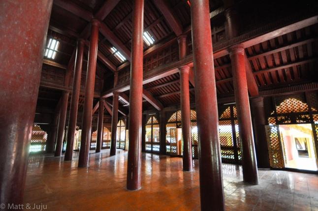 Myanmar - Mandalay - royal palace