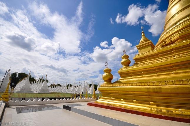 Myanmar - Mandalay - Kuthodaw Pagoda, 2015