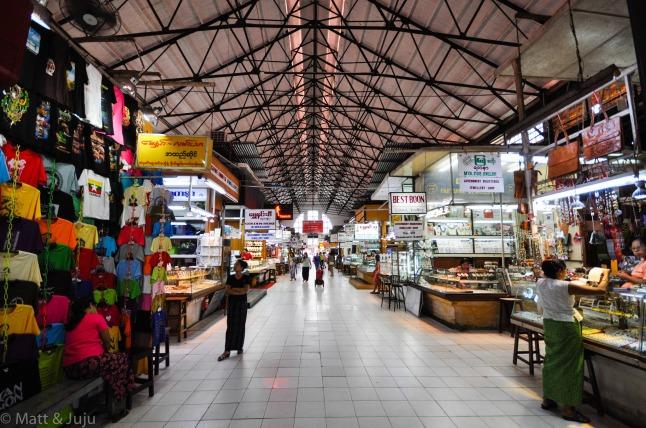 Yangon market, 2015, Myanmar
