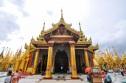 Temple, Shwedagon Pagoda, Yangon, Myanmar