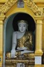 buddha, Shwedagon Pagoda, Yangon, Myanmar