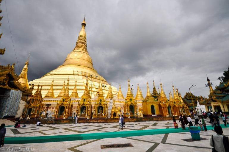 Shwedagon Pagoda, Yangon, Myanmar 2015
