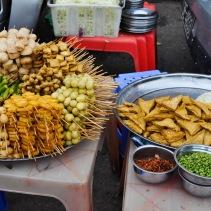 Brochettes de ... autres choses - Yangon, Myanmar