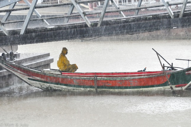 Monsoon, Yangon River, Yangon, Myanmar, 2015