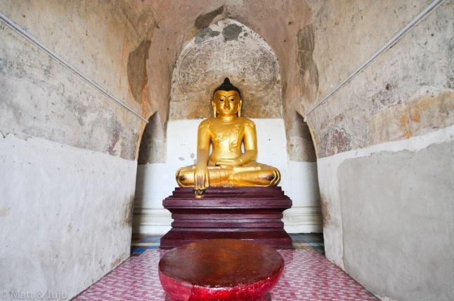 Myanmar - Bagan - Buddha, 2015