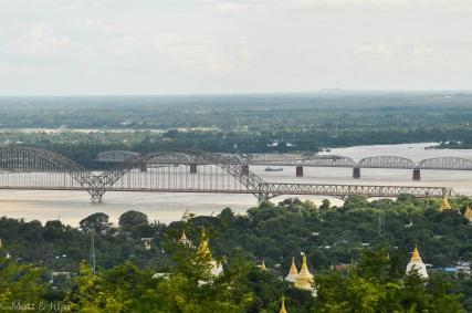 Myanmar - Mandalay - bridges, 2015
