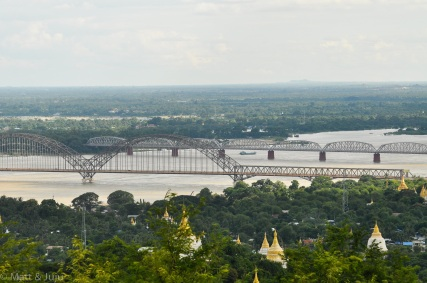 Myanmar - Mandalay - bridges, 2015