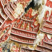 Les bas-reliefs de la KawGon Cave