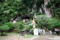 La Yathaypyan Cave, vue de l'extérieur