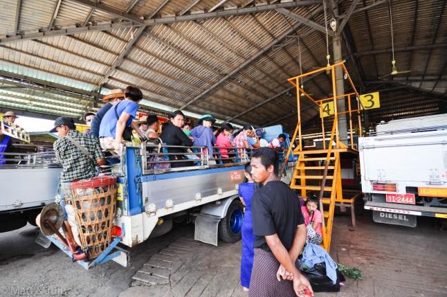 Myanmar - Bago-Kyaikto - 040